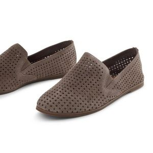 LUCKY BRAND CARTHY SUEDE LOAFER FLAT